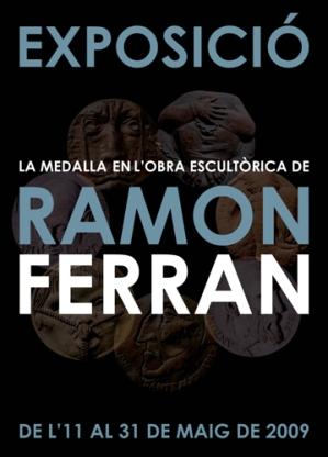 Cartell exposició Ramon Ferran