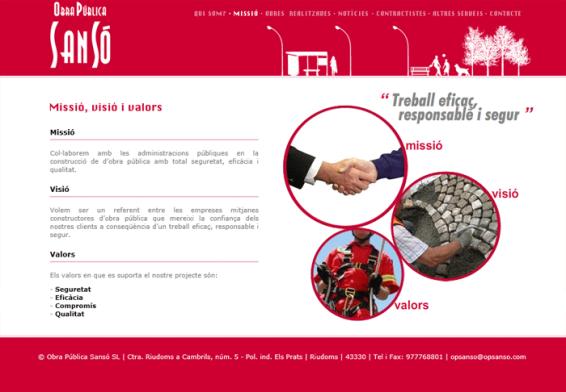 Interior del web
