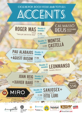 Cartell Accents 2014