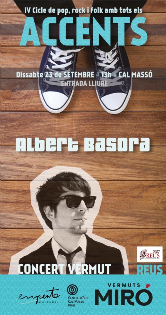Cartell digital Albert Basora