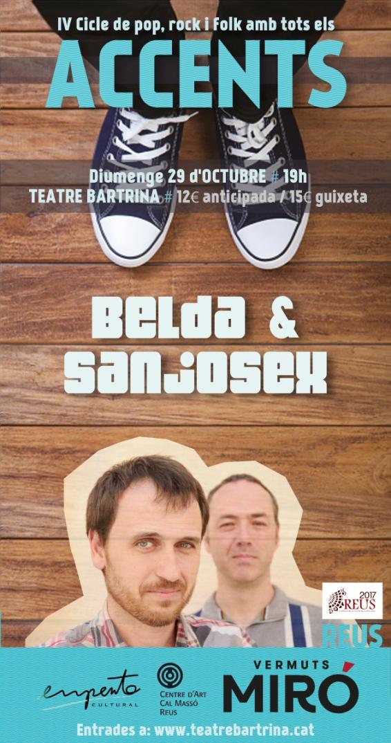Cartell digital Belda i Sanjosex