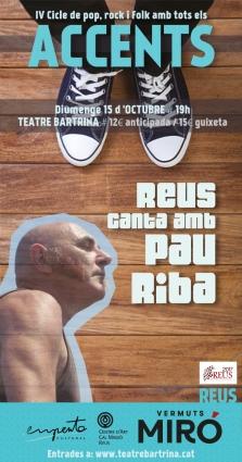 Cartell digital Pau Riba