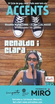 Cartell digital Renaldo i Clara