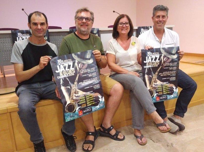 Presentació del cartell a Cambrils. Foto La Mar de Jazz