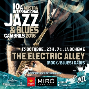 Cartell digitalThe Electric Alley