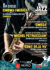 Cartell 1r Cicle de cinema i música A3