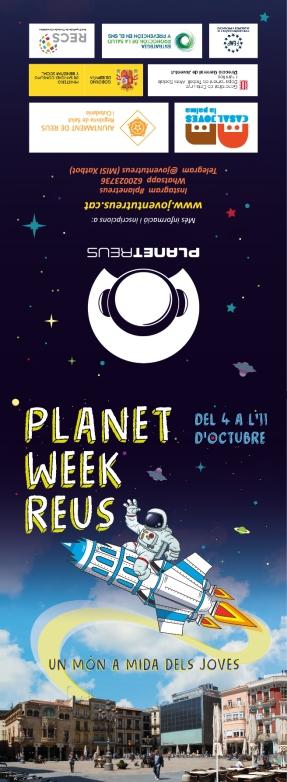 Exterior flyer Planet Week Reus 2019