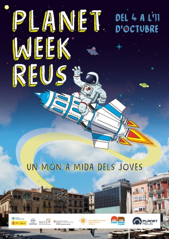 Cartell Planet Week Reus 2019